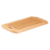 Cutting board with a bread crumb cm.42x28H2