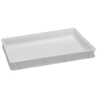 Plastic box for dough stackable cm60x40 h.10
